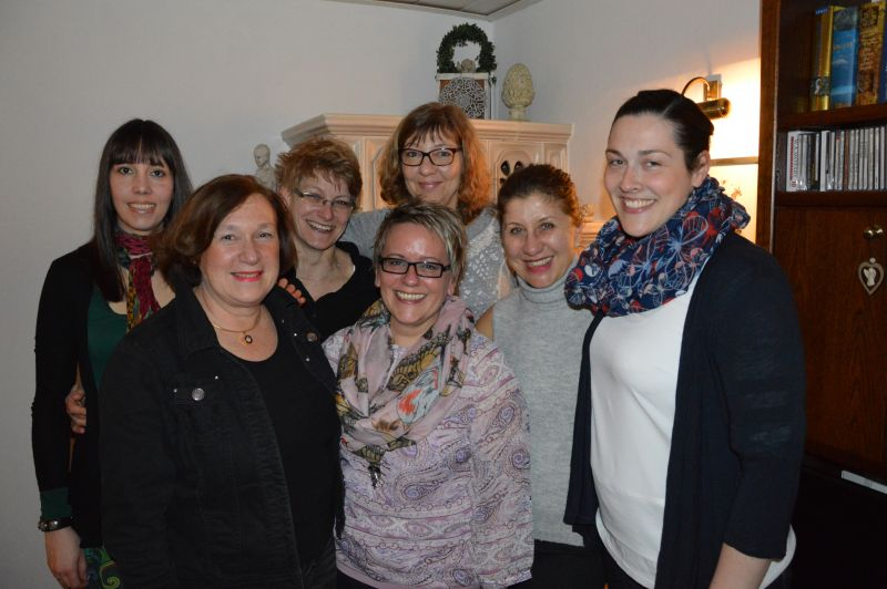 Damen-Mannschaft 30 des Tennisvereins TV Rellinghausen in Essen